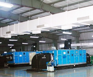 Air Handling Units ( AHU ) / Air Cooling Ducting Work